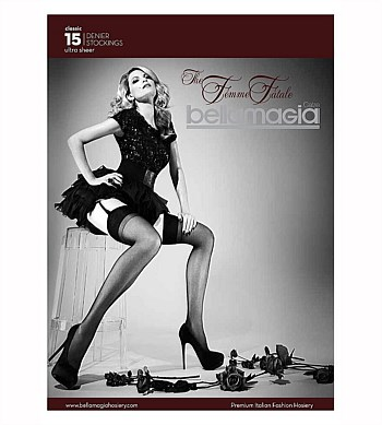 Bellamagia The Femme Fatale Sheer Stockings