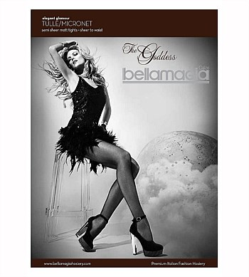 Bellamagia The Godess Tulle/Micronet Tights