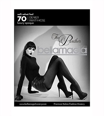 Bellamagia The Panther Opaque Tights